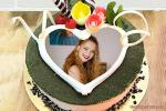 Photo On Birthday Cake Pictures Frame