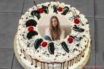 Get Free Black Forest Oreo Cake With Photo Frame