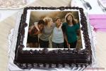 Easy Birthday Chocolate Cake With Photo