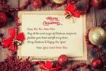 Write Name On Merry Christmas Wishes Image