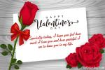 Happy Rose Valentine's Day Greeting Cards