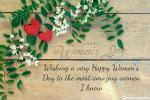 Romantic Red Rose Valentine's Day Wishes Cards