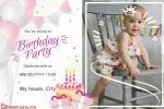 Easiest Birthday Party Invitation Card for Kids Online Free