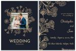Luxury Golden Wedding Invitation Cards Personalised