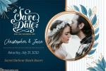 Modern Wedding Save the Date Cards Maker Online