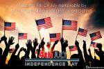 Creative and Design July American Flag Independence Cards