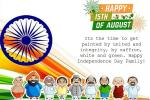 Make Independence Day India 15 August Greeting Cards