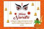 Happy Navratri Greeting Card Maker Online