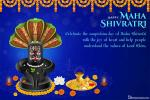 Customize Your Own Maha Shivratri Greeting Card