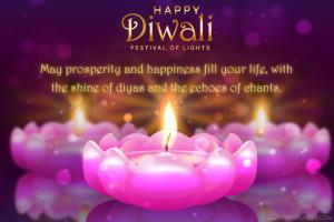 Greeting Card for Happy Diwali 2020 - Festival of Lights Card Images