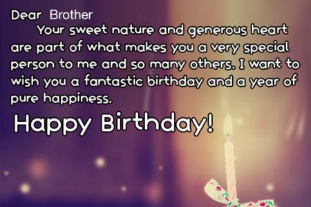 Birthday Quotes for Brother,  birthday wishes for your best brother
