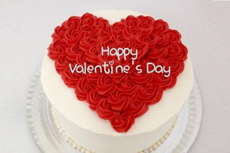 Valentines Day Cakes with name