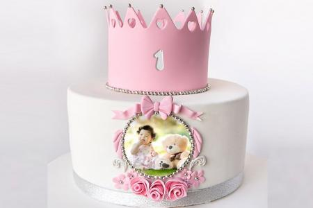 Princess Birthday Cake For Baby With Pictures