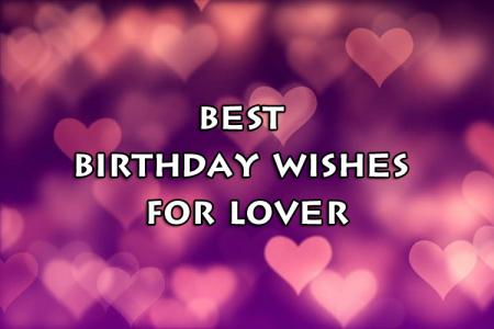 Happy Birthday Messages, Wishes and Quotes for Lover | Boyfriend/Girlfriend