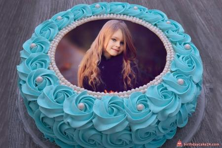 Birthday Cake Photo Frame Online