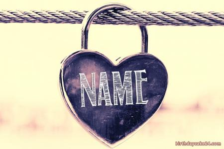 Love Locks With Name Edit