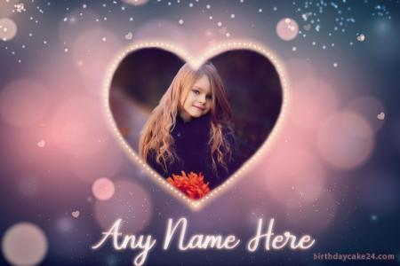 Love Cards With Your Name And Photo Edit