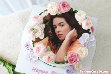 Best Flower Birthday Cake With Photos - Photo On Cake