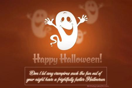Funny Halloween Greeting Cards With Wishes