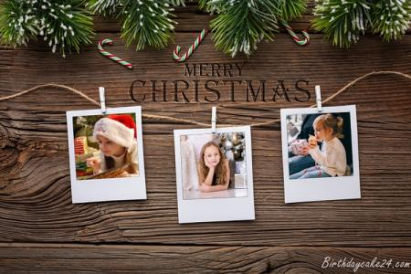 Merry Christmas With Many Photos For Anyone