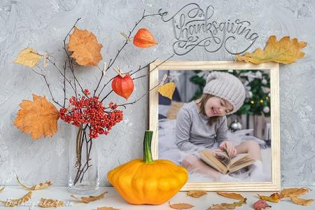 Free Thanksgiving Day Photo Frames Editor