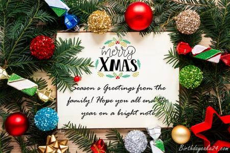 Best Merry Christmas Wishes Greeting Card Online