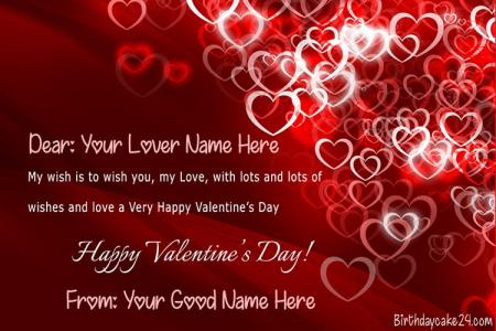 Best Valentine's Day Cards Images With Name Edit
