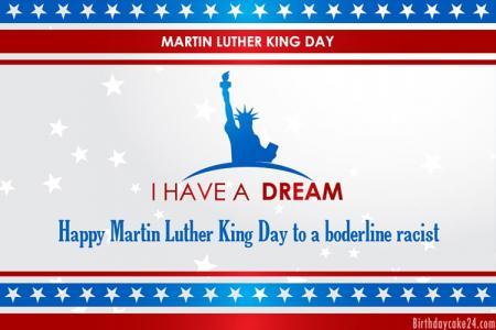 Free Martin Luther King [Jan 18] Wishes Cards