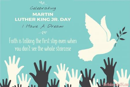 Martin Luther King Day 2020 eCards & Greeting Cards