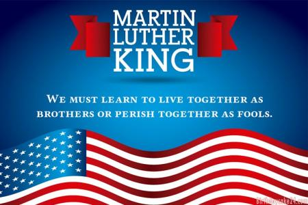 Martin Luther King Day 2021 eCards & Greeting Cards