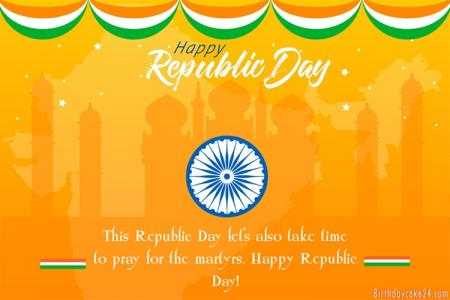 Republic Day Cards - Free Beautiful 26th of January Greeting Cards