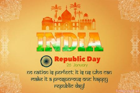 Make Republic Day 26 January Greeting Cards Online