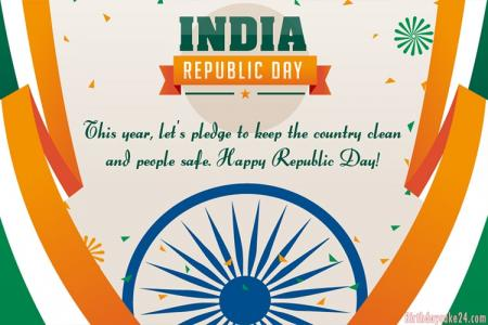 Customized Your Republic Day Greeting Cards Online Free