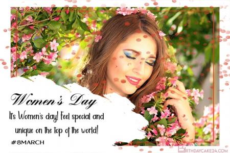 International Women's Day Cards With Your Custom Photo