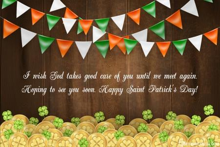 Genarate Happy St. Patrick's Day Cards Images