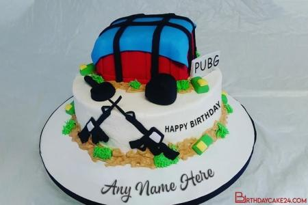 Pubg Happy Birthday Cake Images With Name Online