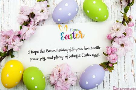Flower Spring Easter eCard, Greeting Card Free Download