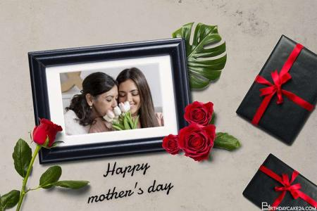 Happy Mothers Day Photo Frame Online