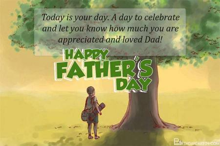 Free Happy Fathers Day Greeting Wishes Cards