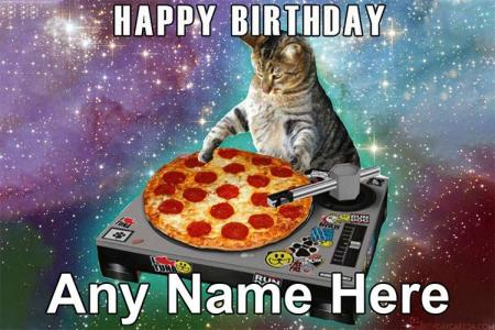 Happy Birthday Meme Card With Name Edit