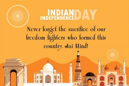 Best Indian Independence Day Greeting Card Designs