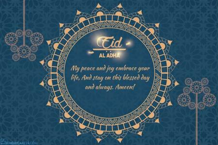 Happy Eid ul Adha Mubarak Cards Free Download