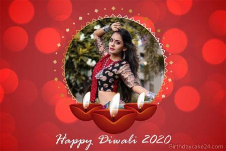 Happy Diwali 2020 Photo Frames Free Download