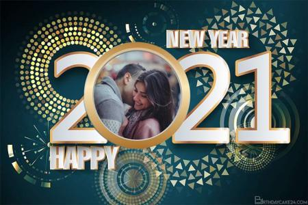 Happy New Year Frame 2021