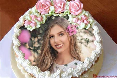 How do you put a picture on a birthday cake online ?