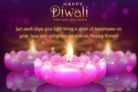 Personalize Your Own Diwali/ Deepavali Wishes Card Online