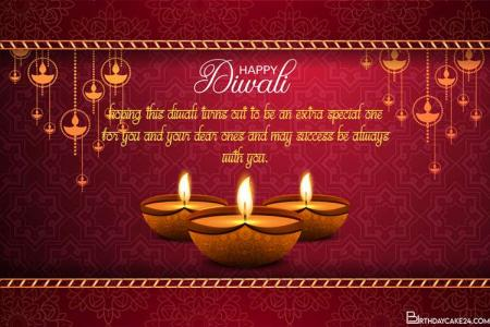 Hindu Diwali Festival of Lights Greeting Cards for 2020