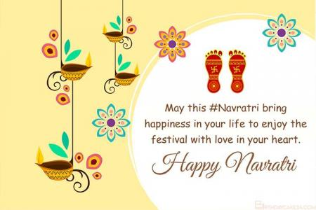 Design Happy Navratri Cards Online For Free