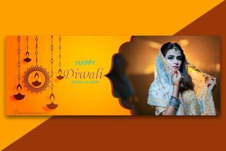 Make Banner, Cover Facebook HD Photos For Diwali Holiday