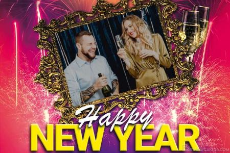 Online Happy New Year 2021 Photo Editing